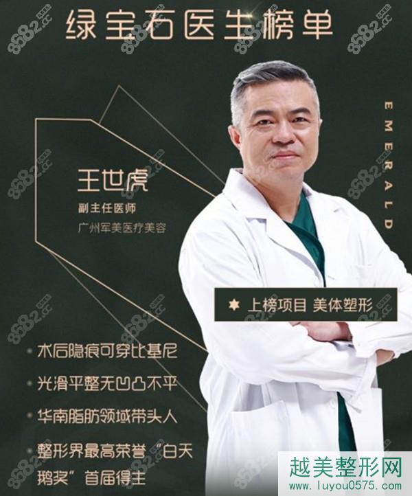 广州军美王世虎
